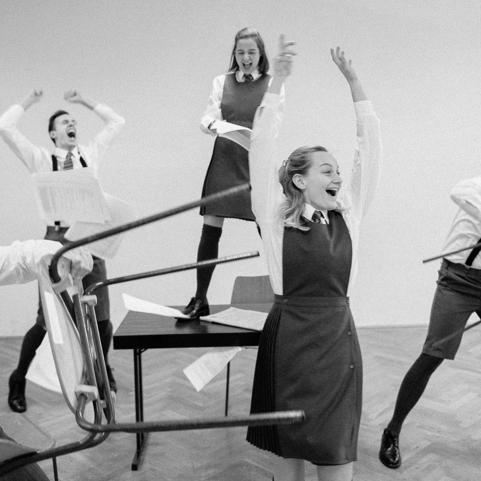 Anna Zöch bei Schüler Gerber Schulklasse rastet aus